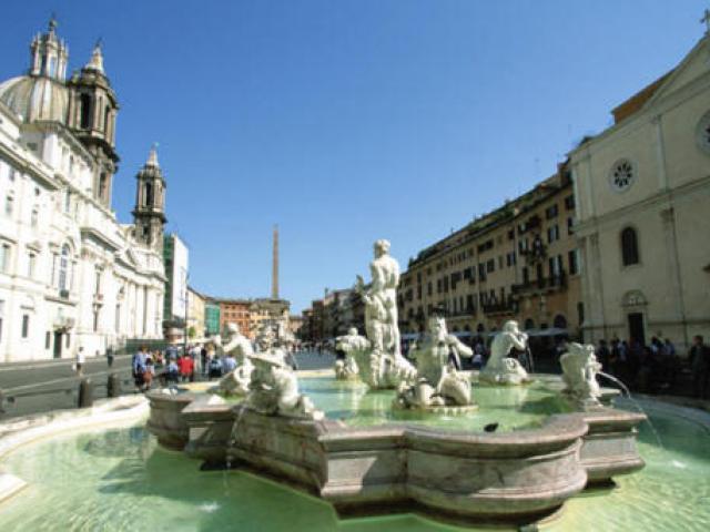 Il Colosseo e le Piazze di Roma