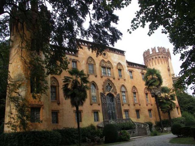 L'originale stile del Castello del Roccolo