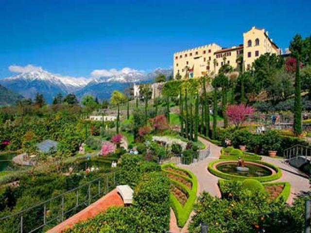 Castel Trauttmansdorff: il giro del mondo in un giardino