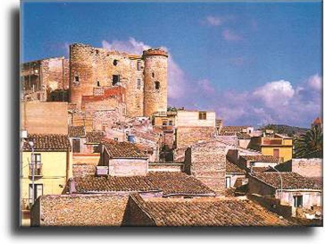 L'imponente Castello di Racalmuto