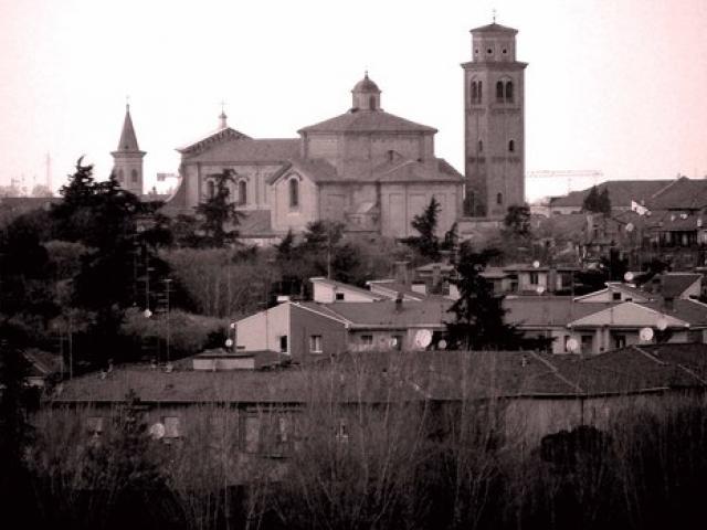 La potente Rocca nel centro di Imola