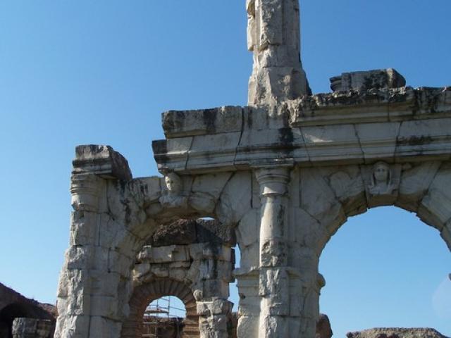 Un famoso anfiteatro romano a Santa Maria Capua Vetere