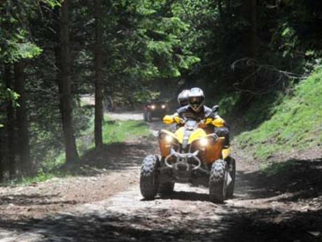Scoprire il quad in Valle Camonica