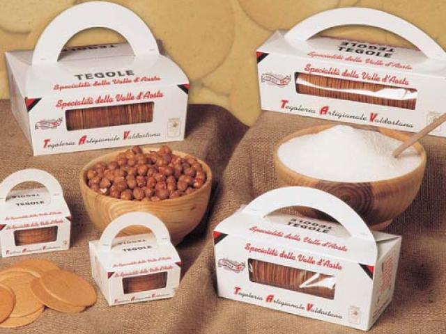 Tegole: la dolce gastronomia valdostana