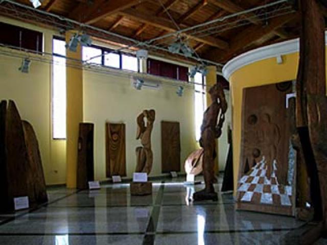 Al Museo di arte contemporanea di Buddusò