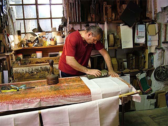 A Rimini in cerca della vera tela stampata a ruggine