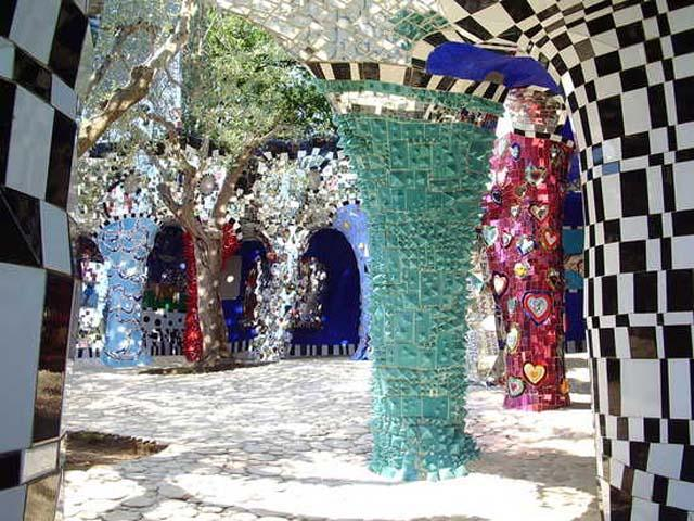 Il Giardino dei Tarocchi, magico luogo di sculture