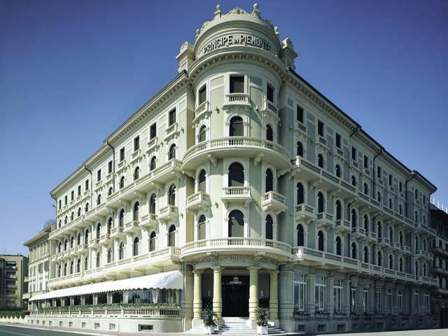 Benessere polisensoriale al Grand Hotel Principe di Piemonte