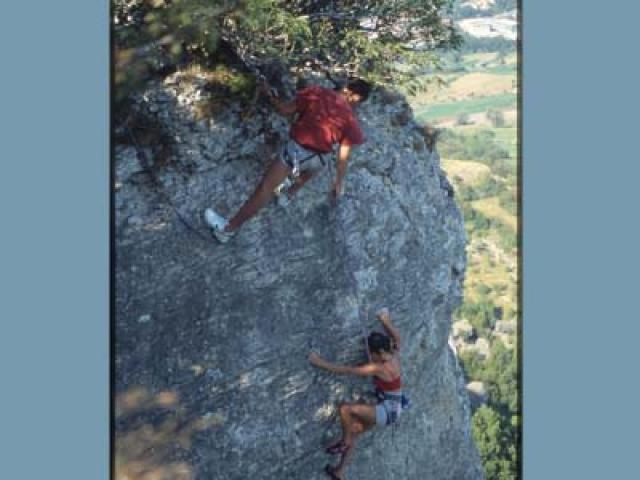 Fare arrampicate sulla Pietra di Bismantova
