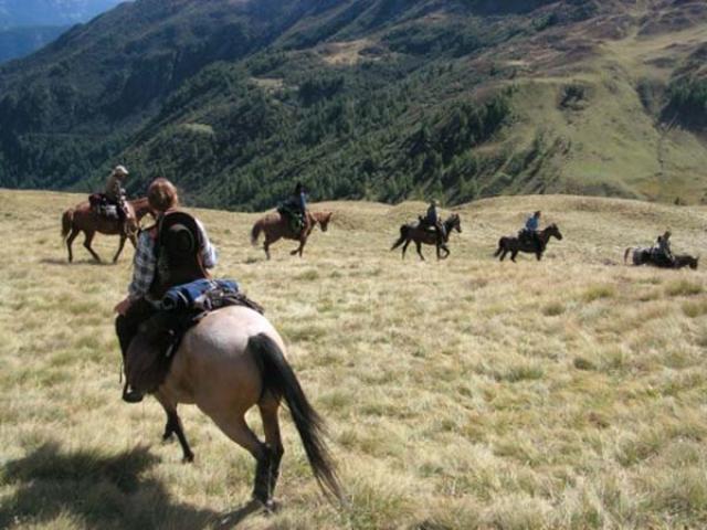 A Cavallo in Val Badia, tra boschi e Dolomiti