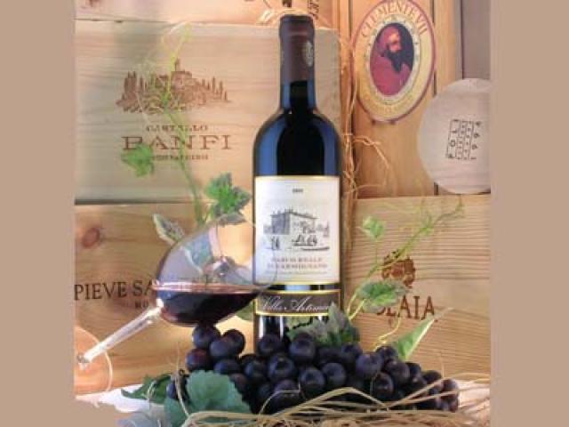 Barco Reale di Carmignano: una cascata di vino a Prato