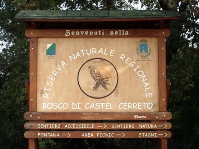 Castel Cerreto, una riserva naturale per una sosta rilassante