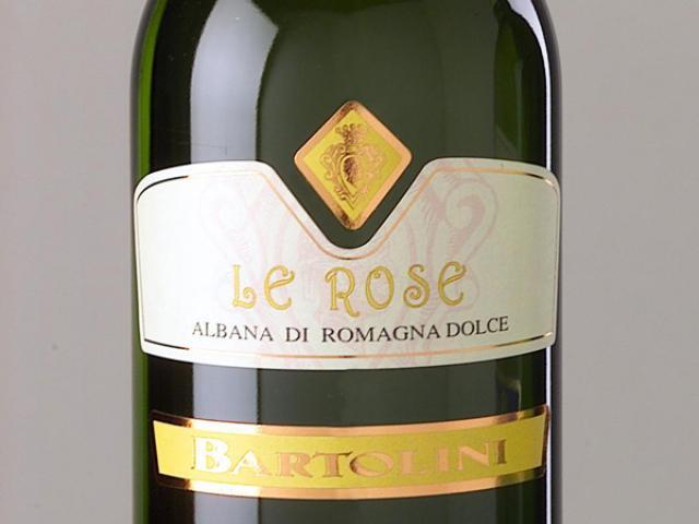 Albana di Romagna da bere nell'oro