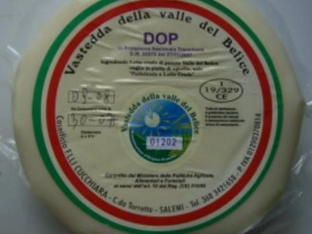 Vastedda formaggio di Agrigento