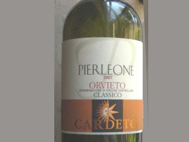 Orvieto Doc Sole d'Italia in bottiglia