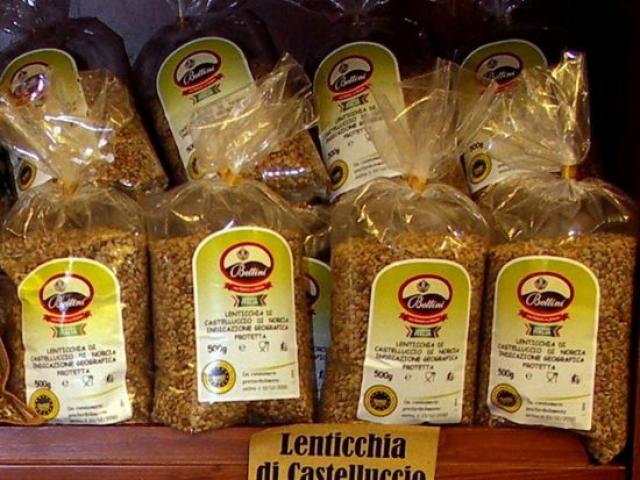 Lenticchia di Castelluccio a Perugia