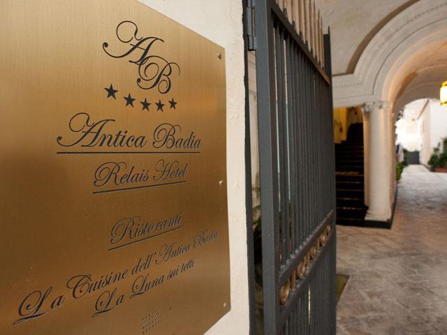 Passato e modernità diventano armonia nell'Antica Badia Relais Hotel