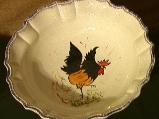 Ceramica di Mondovì: il gallo che conquista