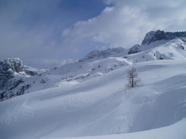 Sciare a Sella Nevea
