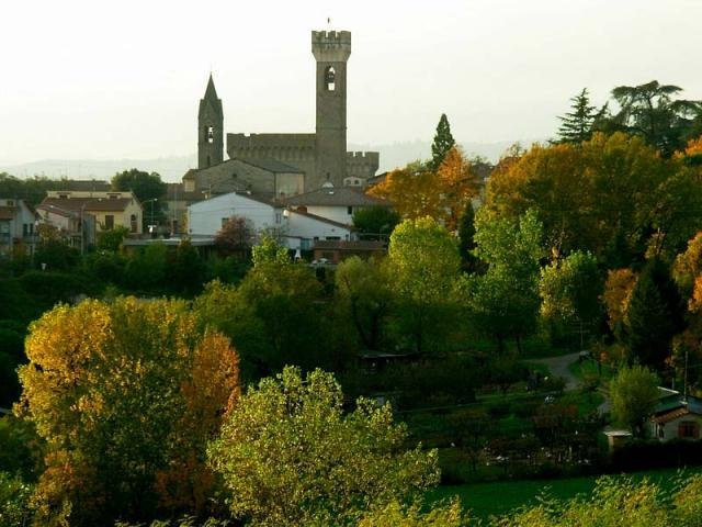 La città medievale di Scarperìa