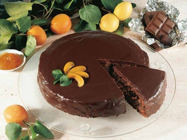 Torta Sacher e Presnitz
