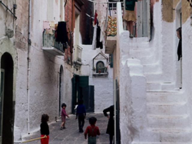 La città antica e la città nuova di Bari