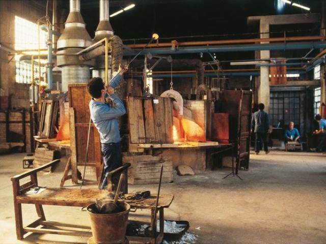 Lavorazione dei vetri piombati