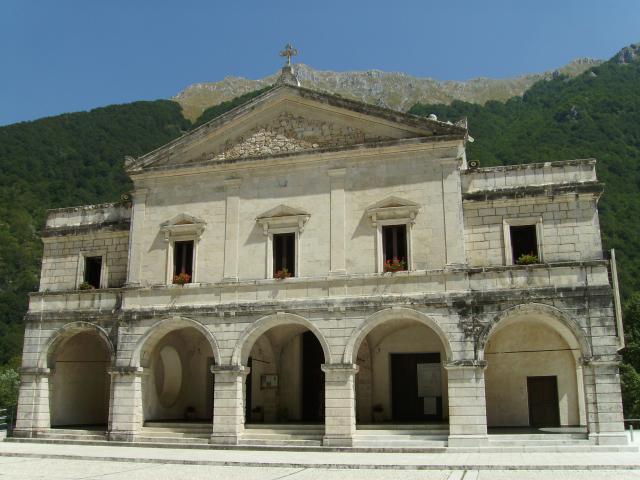 Santuario della Madonna del Canneto in Val di Comino