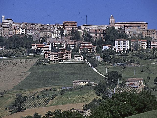 La città medievale di Camerino