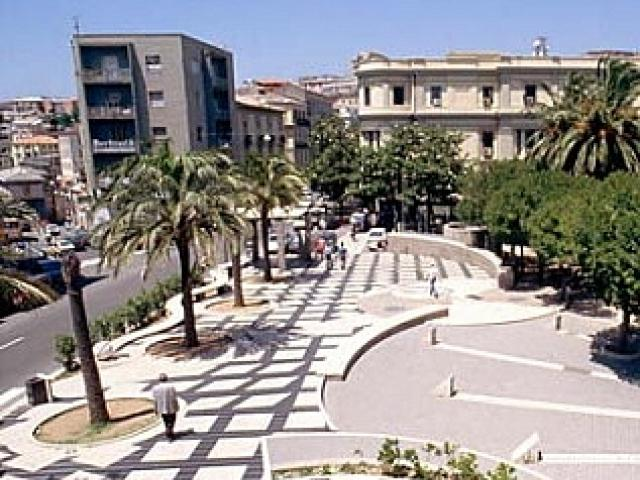 Piazza Matteotti a Catanzaro