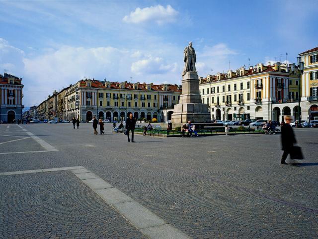 Il cuore storico di Cuneo