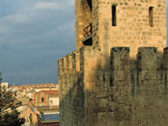 Il centro storico di Oristano