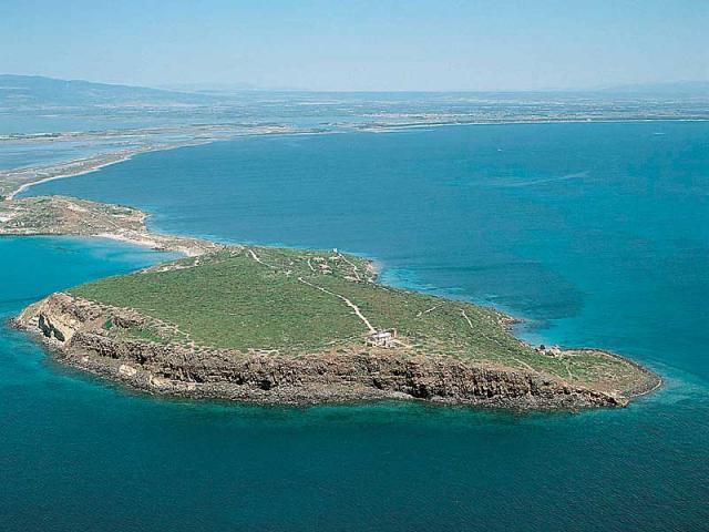 La penisola del Sinis e gli stagni