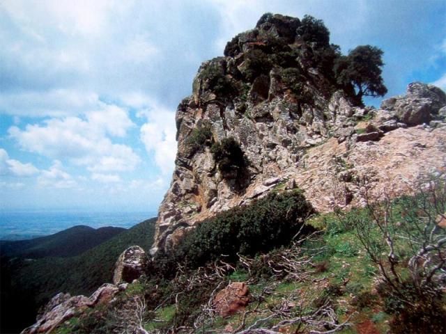 Climbing sul Monte Arci
