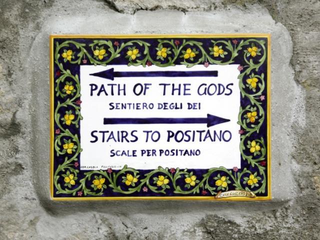 A piedi sul Sentiero degli Dei