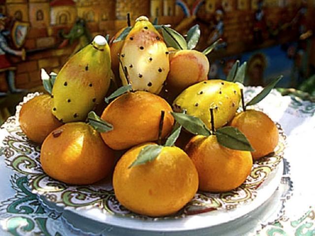 Arance e fichi d'India