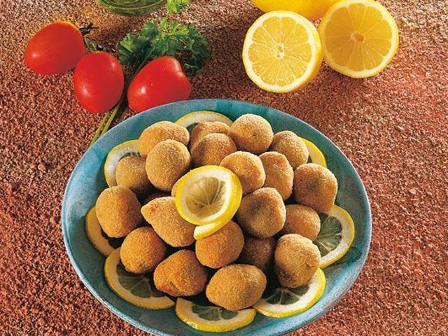 olive della Daunia ripiene di pesce