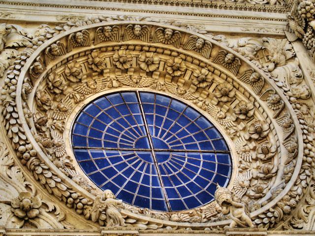 rosone chiesa di Lecce