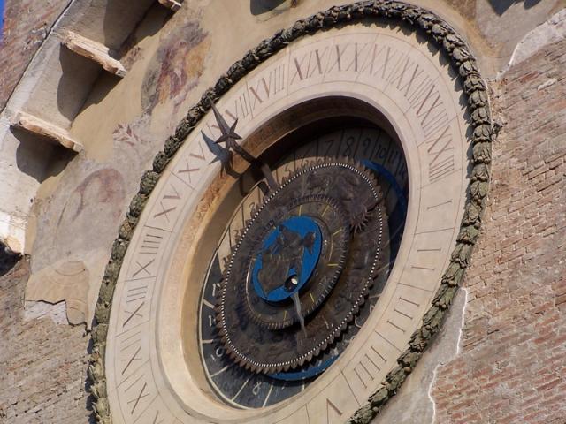 Orologio in Piazza delle Erbe