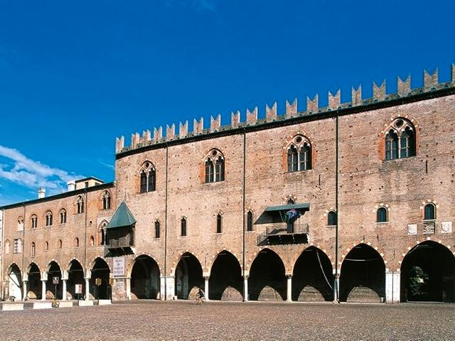 Palazzo Ducale di Mantova - Piazza Sordello