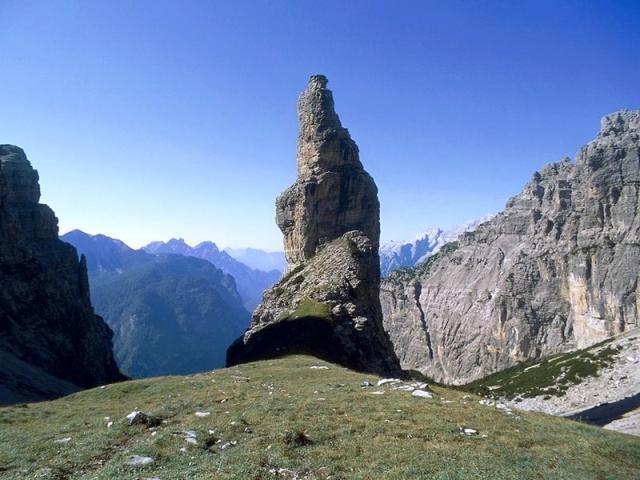 Campanile di Val Montanaia - Riserva Naturale Regionale Dolomiti Friulane