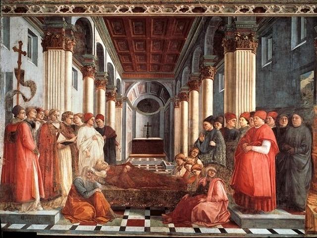 Duomo - Storie dei Santi Stefano e Giovanni Battista, F. Lippi