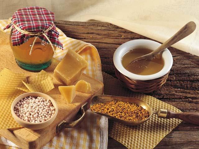 Miele e frutta secca