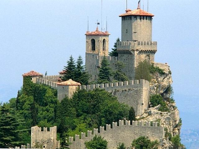 Prima Torre detta La Rocca e La Guaita - Repubblica di San Marino