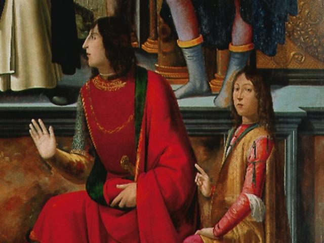 Pala di San Vincenzo Ferrer - Ghirlandaio