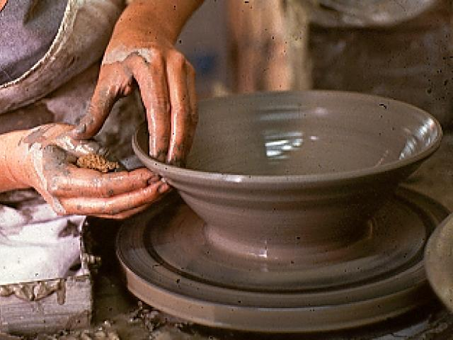 produzione di ceramica