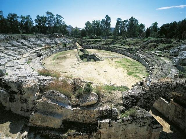 Anfiteatro romani di Siracusa