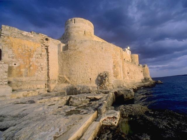 Isola di Ortigia - Castello Maniace