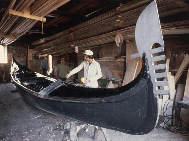 costruzione delle gondole