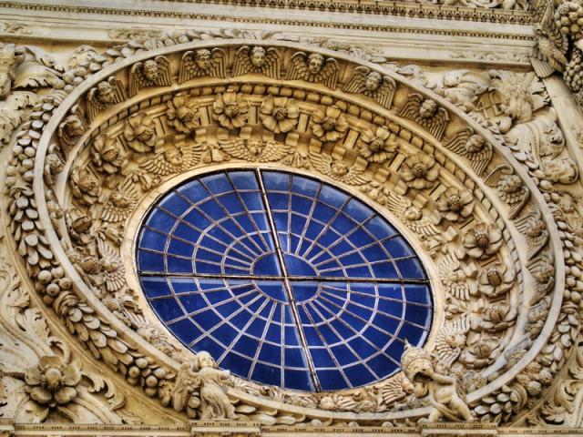 Rosone della Chiesa di Santa Croce - Lecce